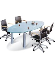 玻璃会议桌-002